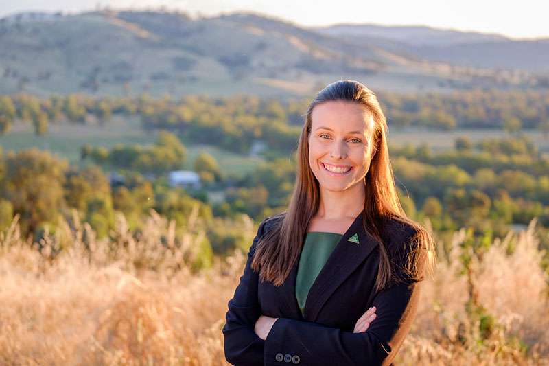 Amanda Cohn, Greens candidate for Albury City Council 2016