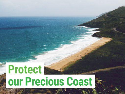 Protect our precious coast