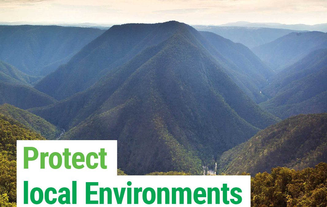 Protect the environment and biodiversity