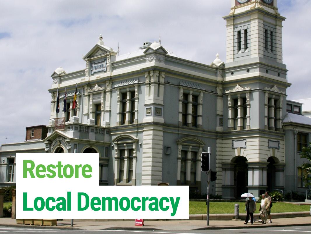 Restore Local Democracy